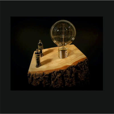 Handmade Industrial Table Lamp