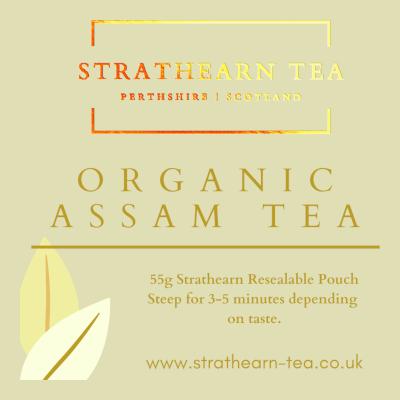 Strathearn Organic Assam Tea
