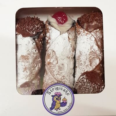 Box Of 3 Mixed Cannoli