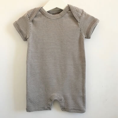 Organic Cotton Baby Playsuit