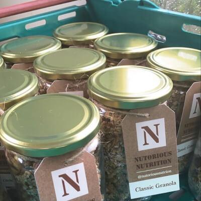 Nutorious Cinnamon Granola