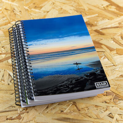 Lahinch Surfer A5 Notebook