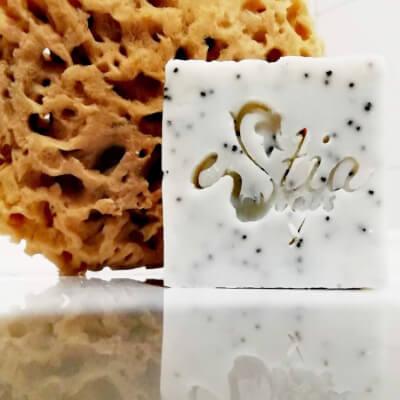Olive Oil Scrub Soap Plouton (Exfoliation)