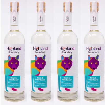 Birch And Elderflower Wild Scottish Liqueur