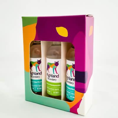 Wild Scottish Spirit & Liqueur Mini Gift Box