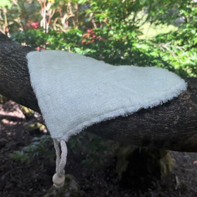Natural Fibre Soap Bag - Bamboo