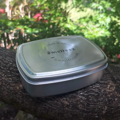 Aluminium Soap Tin