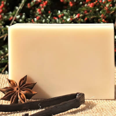 Vanilla & Anise Goats' Milk Soap Bar