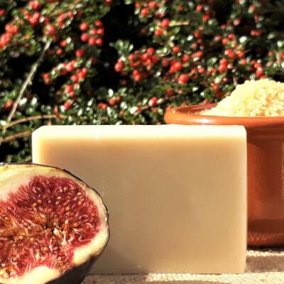 Fig & Brown Sugar Goats' Milk Soap Bar