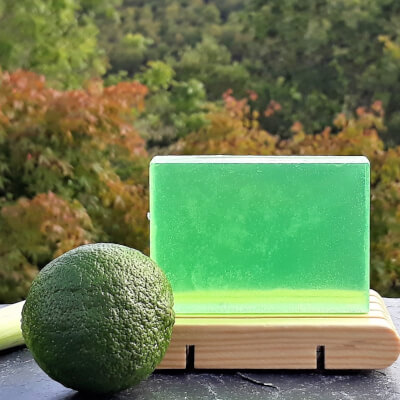 Lemongrass & Bergamot Olive Oil Soap Bar