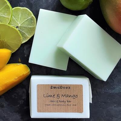 Lime & Mango Hair & Body Bar
