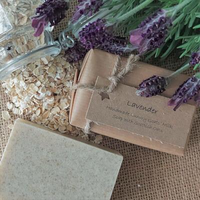 Lavender Oatmeal Soap Bar