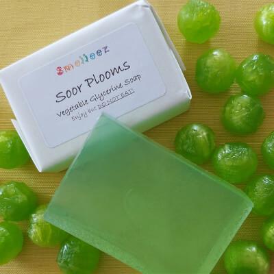 Soor Plooms Vegetable Glycerine Soap Bar