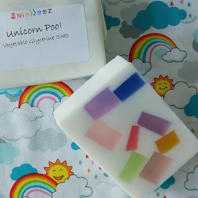 Unicorn Poo! Vegetable Glycerine Soap Bar