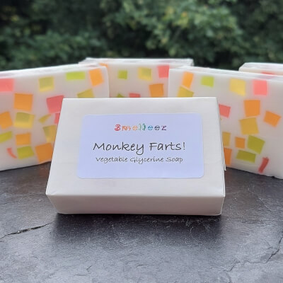 Monkey Farts! Vegetable Glycerine Soap Bar