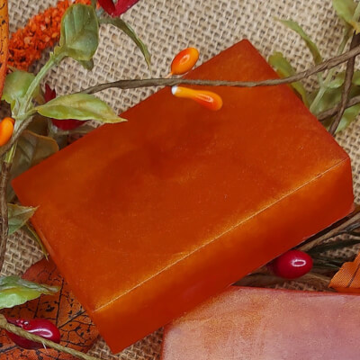 Toffee Apple Vegetable Glycerine Soap Bar