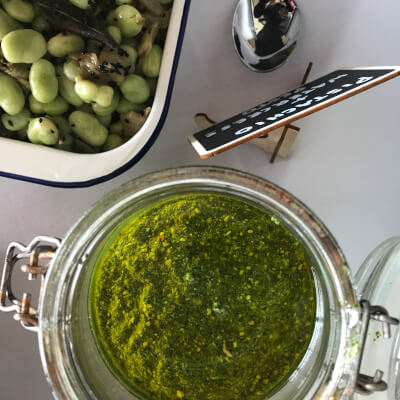 Sage & Walnut Pesto