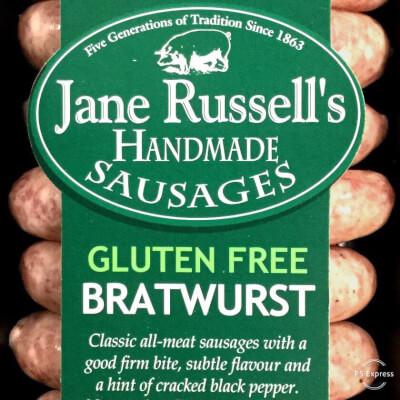 Bratwurst  Sausages Gluten Free