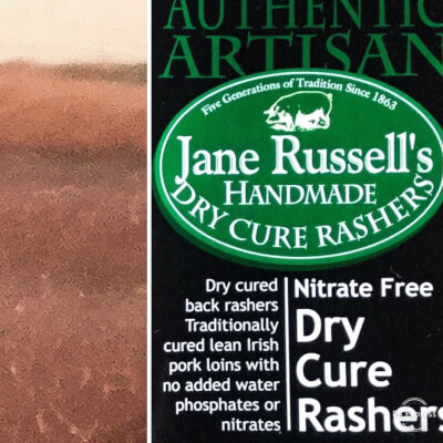 Dry Cure Rashers - Nitrate Free