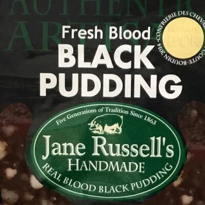 Fresh Blood Black Pudding