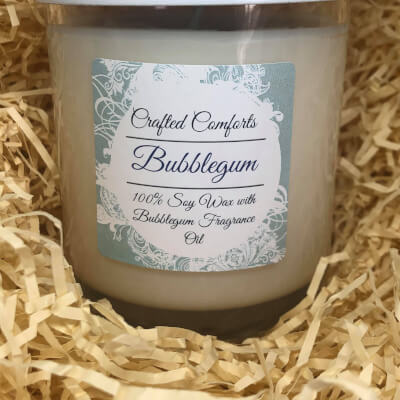 Bubblegum Soy Scented Candle