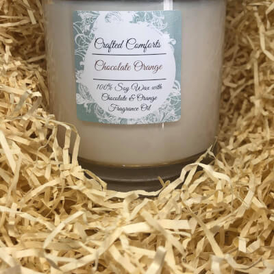 Chocolate Orange Soy Scented Candle