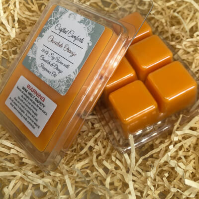 Chocolate Orange Scented Soy Melts