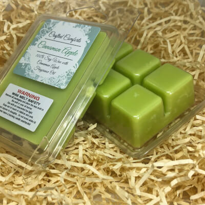 Cinnamon Apple Scented Soy Melts