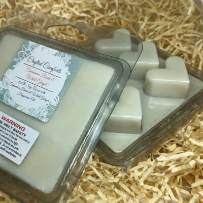 Cinnamon Bark & White Ginger Soy Scented Melts