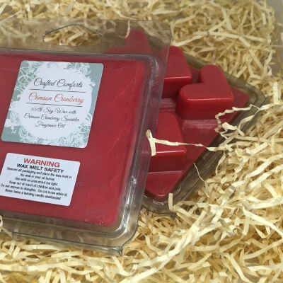 Crimson Cranberry Scented Soy Melts