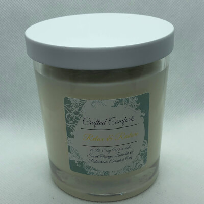 Relax & Restore Soy Aromatherapy Candle