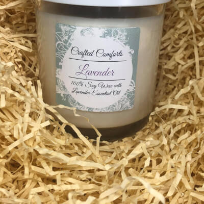 Lavender Soy Scented Candle