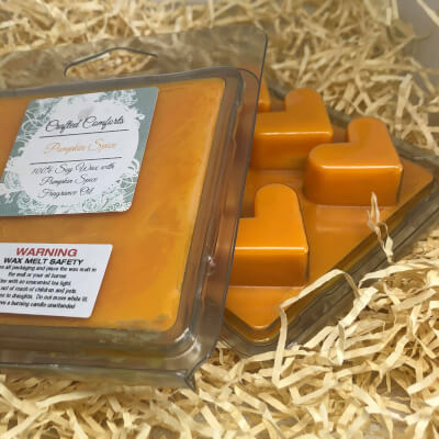 Pumpkin Spice Scented Soy Melts