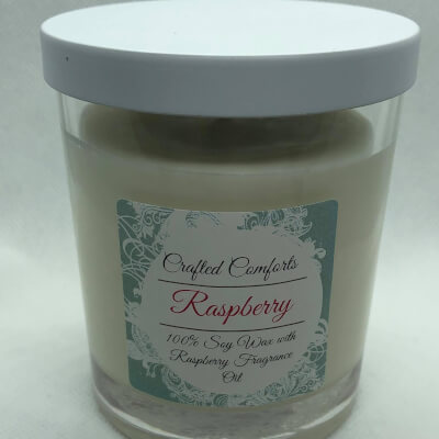 Raspberry Soy Scented Candles