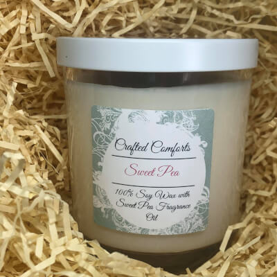 Sweet Pea Soy Scented Candle