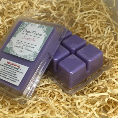 Sweet Pea Scented Soy Melt