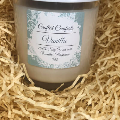 Vanilla Soy Scented Candle