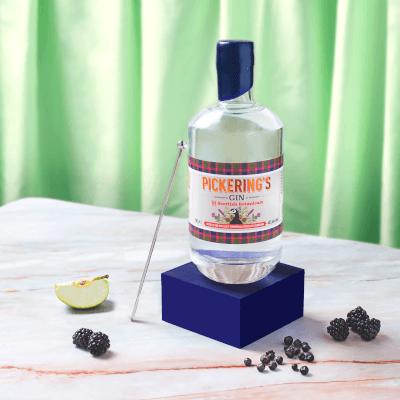 Pickering's Gin With Scottish Botanicals Thumbnail Pickering's Gin With Scottish Botanicals