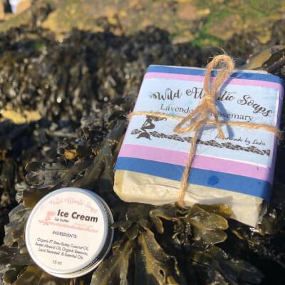 Lavender & Rosemary Seaweed Soap