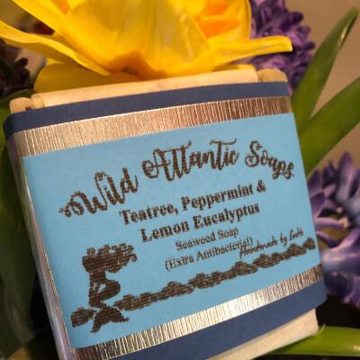Extra Antibacterial Seaweed Soap