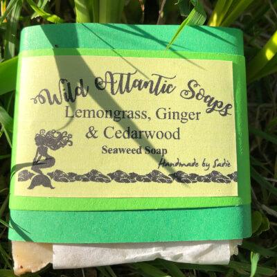Seaweed Soap Lemongrass & Ginger