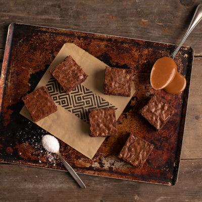 Salted Caramel Brownies Box Of 6