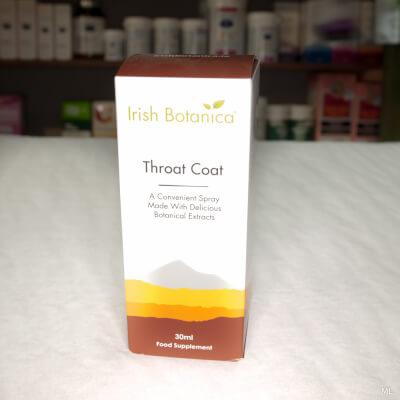 Throat Coat - Irish Botanica