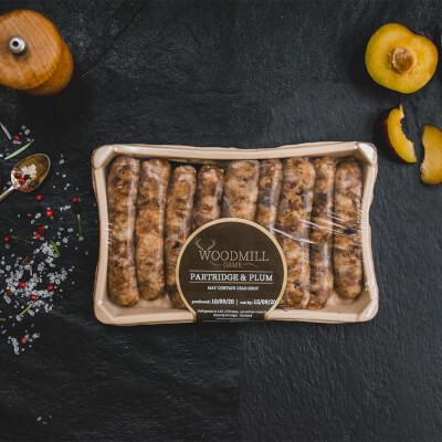 Partridge & Plum Sausages