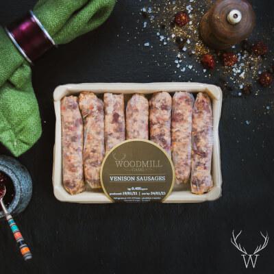 Plain Venison Sausages