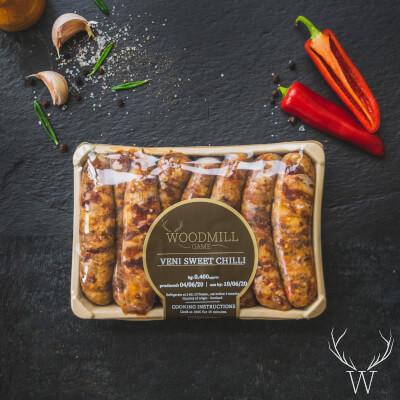 Venison & Sweet Chilli Sausages