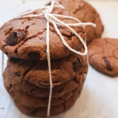 Vegan Chilli And  Chocolate Chip Cookies