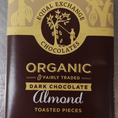 Organic Almond Dark Chocolate