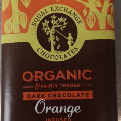 Organic Dark Orange Chocolate