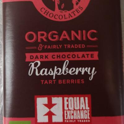 Organic Raspberry Dark Chocolate